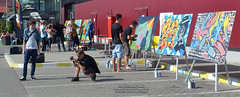 27 August 2011 » Graffiti în culorile Galleria