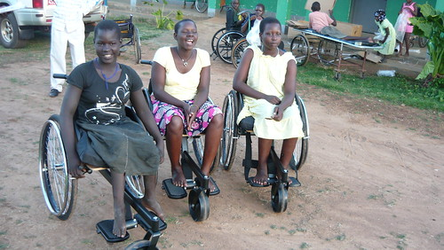 New wheelchairs: great fit!