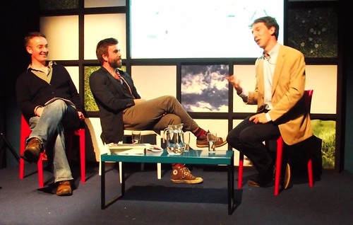 Edinburgh International Book Festival - Nick Hayes & Wiliam Goldsmith 01
