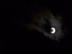 ... duality (TiC's wonderland) Tags: sky moon clouds nightsky
