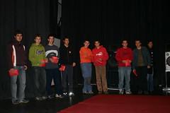 Jovenes que han obtenido el premio de emprendedores en el cinema