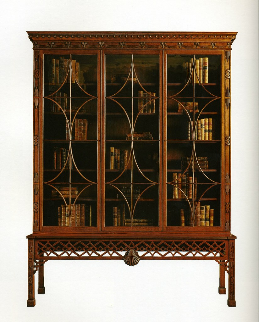 Reproduction display cabinet