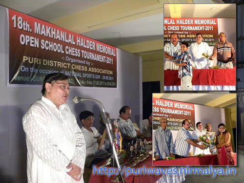 18th Makhanlal Halder Memorial Open School Chess Tournaments