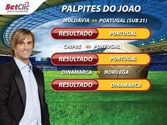 Palpites Joo Pinto Qual. Euro 2012 (BetClic Portugal) Tags: portugal ronaldo nani seleco chipre euro2012 apostas paulobento palpites
