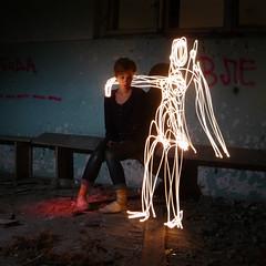 Someone else's dreams (carmonamedina) Tags: light luz boyfriend girl digital dark square death serbia experiment drawings portfolio dibujo colony jlk ksenija longexpossure kolonija espontneo jalovik carmonamedina