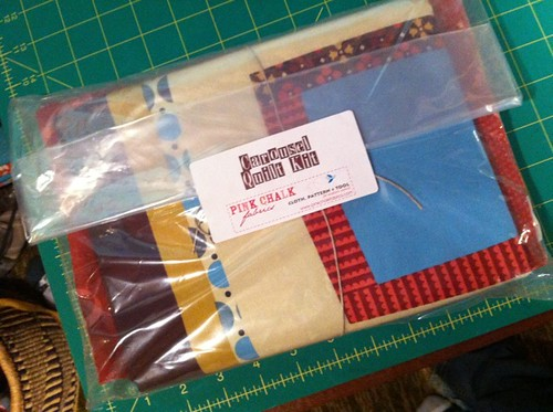 Carousel Cheater Quilt