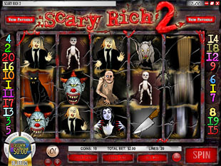 Scary Rich 2 Slot Machine