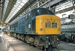 45039 Derby Works 30Apr77 (david.hayes77) Tags: peak derby brel class45 45039 derbyworks