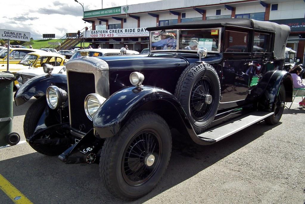 1928 Daimler 35/120 landaulet