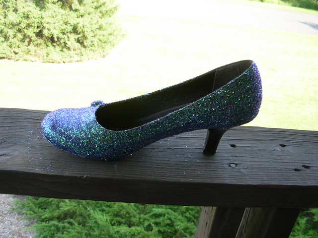 Glitter shoes!