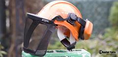 StihL helmet (Dharielt) Tags: house tree ray helmet chainsaw ax removal ban stihl