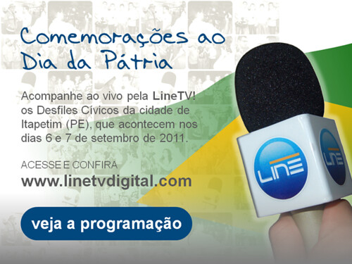 Banner - Dia da Pátria - Itapetim - PE - JP - LineTV by portaljp