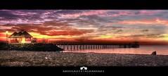 Calm Lake / Panorama & HDR (Abdulaziz ALKaNDaRi | Photographer) Tags: sea panorama beach colors canon landscape photography eos flickr shot kuwait hq ef hdr q8 2011  abdulaziz   kuw 550d  t2i  alkandari abdulazizalkandari