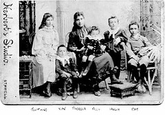 Early Amarant family photo (christal56) Tags: studio children herberts stawell amarant amarants hughamarant josephinecarty xavieramarant