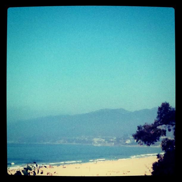Hello sand. Hello sea.