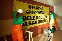 Greenpeace en El Algarrobico