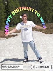 Happy B-Day 2011 (steve_steady64) Tags: birthday summer snow steve compleanno folgarida