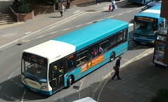 West Surrey - 562: Its days are numbered! (bobsmithgl100) Tags: county 2 bus way woking day review first surrey september cc 200 council change aww alexander dennis phase dart enviro 2011 4045 enviro200 cawsey route562 arrivaguildfordwestsurrey gn09 gn09aww