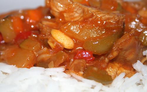 37 - Hühnchen süß-sauer / Chicken sweet-sour - CloseUp