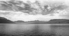Rainy day on the Attersee (rotraud_71) Tags: sky bw mountains water clouds austria oberösterreich attersee fleursetpaysages blinkagain lelitedespaysages