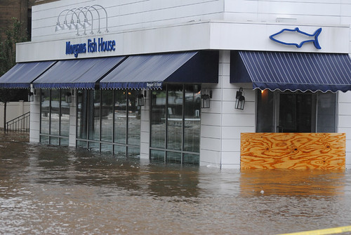 Morgans Fish House Flood (Rye, NY)