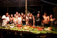La mesa servida (el pequeo ojo) Tags: costa venezuela selva playa sucre cascadas paria suramrica