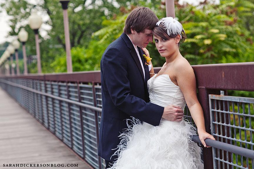 River Market Kansas City wedding photographs