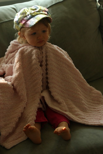 blanket and hat
