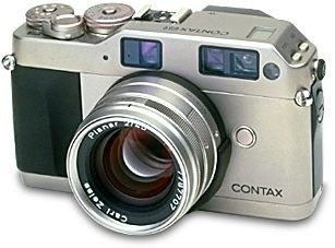 Contax G1. Photo from Contax site.