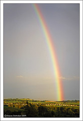 Rainbow over Ulverston (Duncan Darbishire) Tags: landscape bay rainbow cumbria morecambe ulverston nook furness rosside duncandarbishire httpdarbishireblogspotcouk