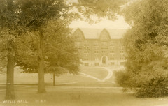 Wells Hall, circa 1912 (Michigan State University Archives) Tags: michiganstateuniversity wells dorms