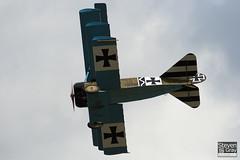 G-CDXR - PFA 238-14043 - Private - Fokker DR.1 Triplane Replica - 110710 - Duxford - Steven Gray - IMG_8875