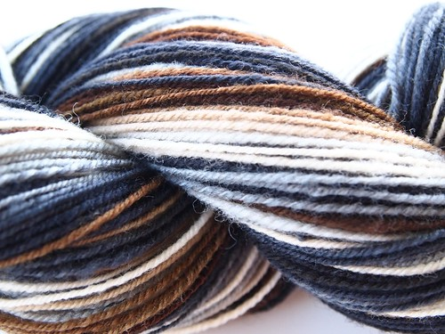 Wildhare-Lithos-4oz sw wool top-318yds-chain plied