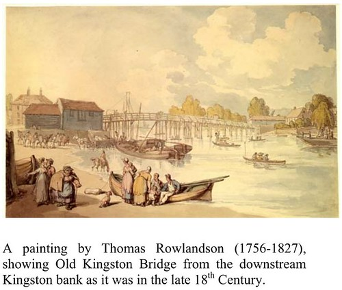 Painting of the old bridge