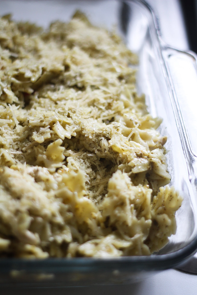 Great Chicken Pesto dish that feeds a larger family