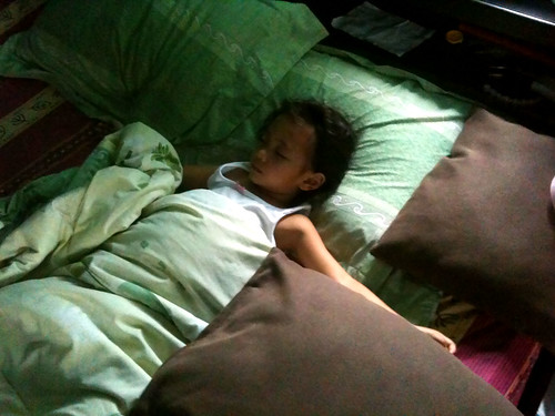 Thai Niece Nong Ja Sleeping