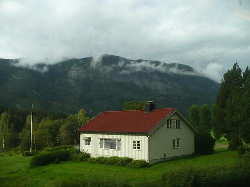 Oslo to Bergen Scenery
