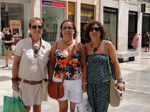 Comprando en Málaga