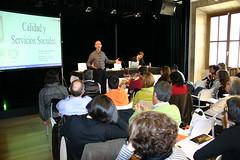 En Lobiano aparecen Jose Antonio y el Director de Servicios Sociales y de Calidad del Ayuntamiento de Getxo Enrique Sacanell
