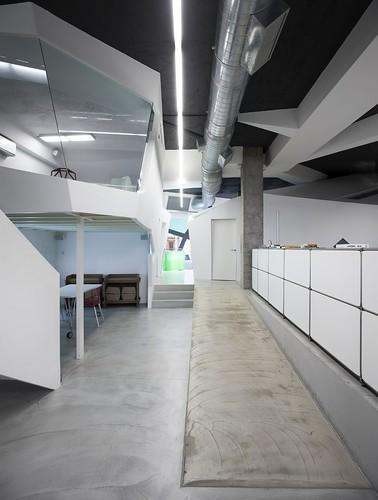 espacio de trabajo para empresa creativa supperstudio, bilbao 16