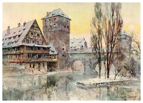009-Nuremberg-Henkersteg-Germany-1912- Edward y Theodore Compton ilustradores