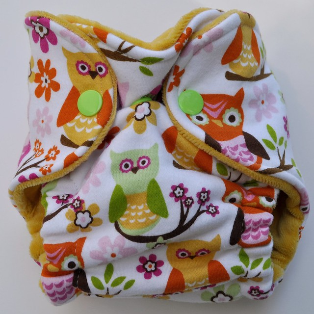 Bumstoppers Newborn Sweet Owls Fitted