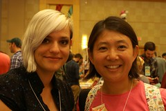 me and Jess Fink @ SPX2011