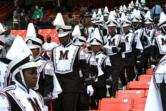 "Morehouse College ""House of Funk"" Marching Band (Kevin Coles) Tags: washingtondc football wdc bison rfkstadium inauguralgame morehousecollege howarduniversity 2011 hbcu meac siac footballclassic maroontigers blackcollegesports nationsfootballclassic morehousehoward rivairy attnationsfootballclassic nationsclassic"