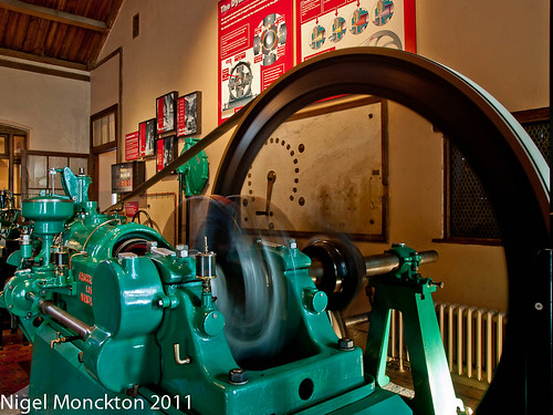 Electrical generator - Warwick Castle