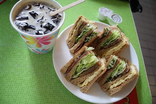 [台湾2.5] 早安!美芝城のサンドイッチ