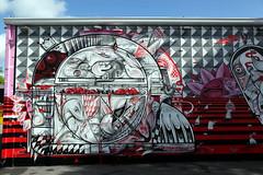 How & Nosm TATS Cru (STEAM156) Tags: street nyc usa streetart art graffiti travels photos miami bronx murals bio places trains kings how walls nicer tats tatscru wynwood nosm bg183 themuralkings hownosm steam156 steam156photos