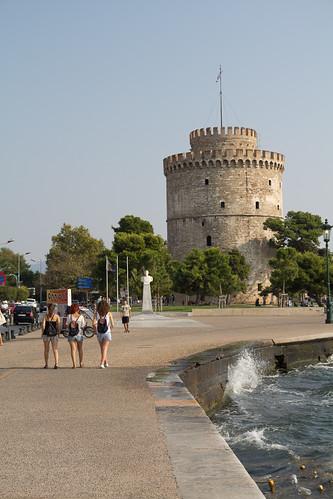 Salonicco, la sua bella torre ^_^