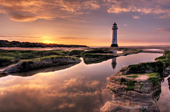 light on a lighthouse (gobayode photography...times) Tags: lighthouse seascape reflection newbrighton merseyside newbrightonlighthouse perchrock perchrocklighthouse colorphotoaward