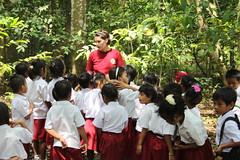 Gathering children
